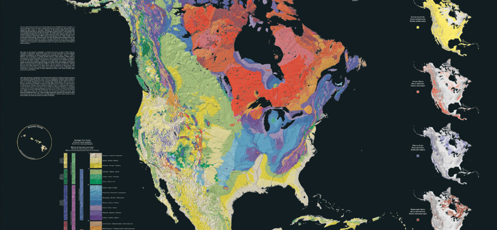 The North America Tapestry of Time and Terrain By Kate E. Barton, David G. Howell, José F. Vigi
