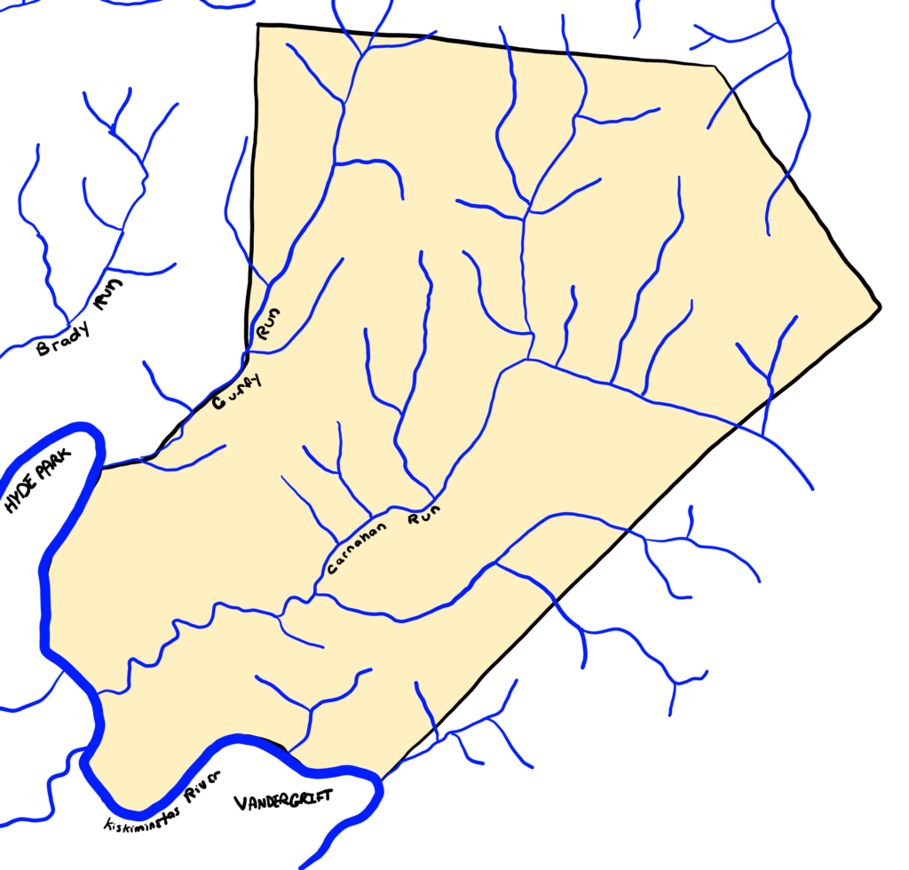 Water in Parks Township