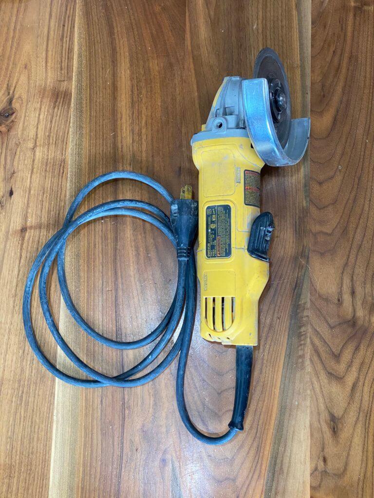 Dewalt 4 1/2 inch angle grinder - DWE4120
