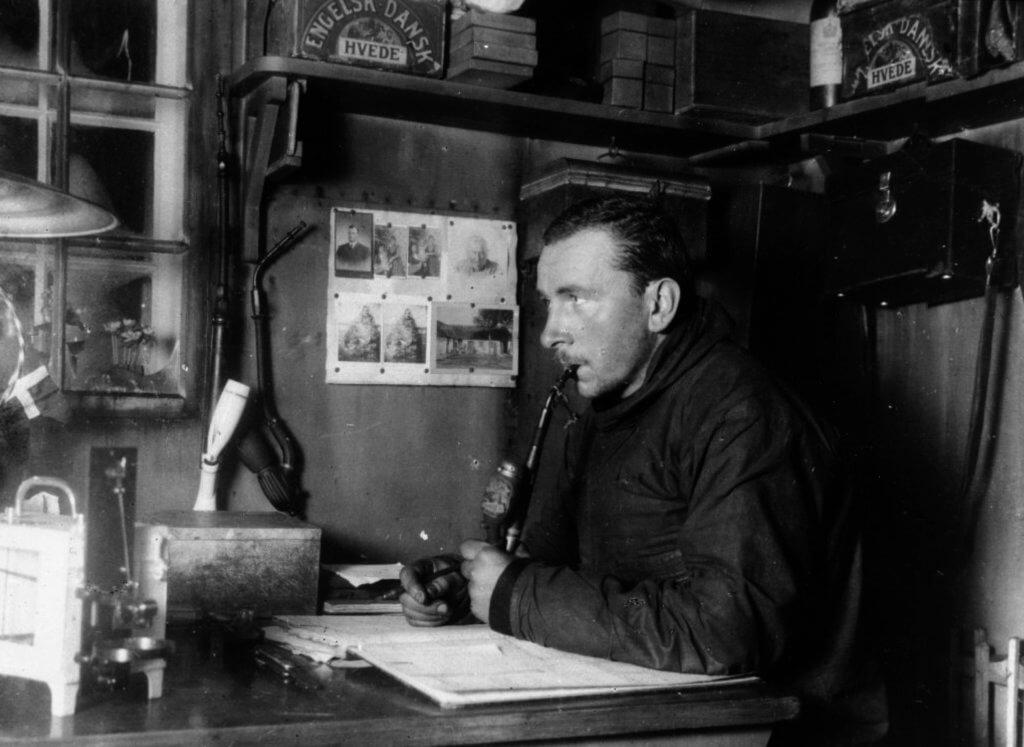 Alfred Wegener in Greenland